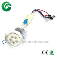 60degree, 40W recessed LED downlight 5*8W RGBW ceiling light with CE,RoHS, SAA