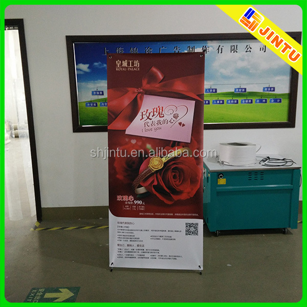 X banner,advertising equipment X banner display stand