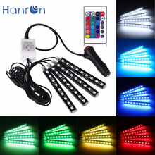 RGB car LED Strip Styling Decorative Atmosphere Lamps Interior car led Light