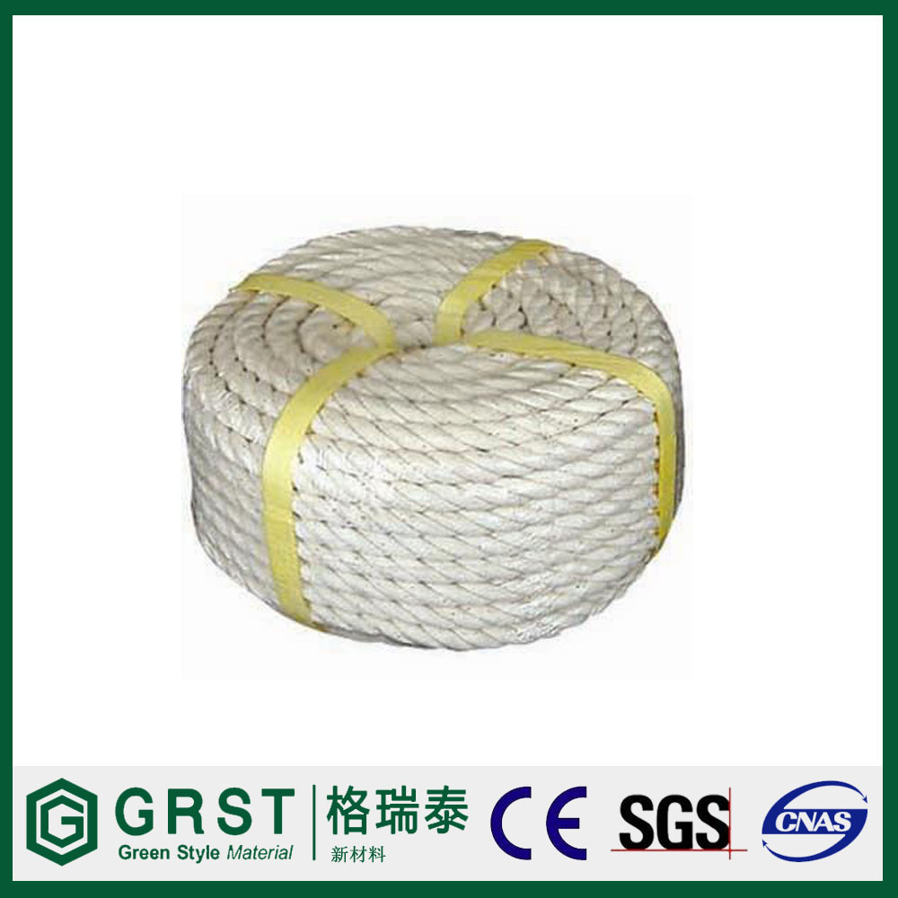 15m PE packing rope 3 strand twisted rope