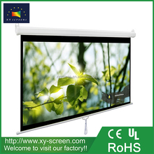 XYSCREEN office equipment 100 inch manual projector screen