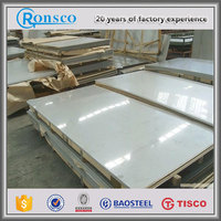2016 aisi 316 polished 1mm thickness 201/304 stainless steel plate