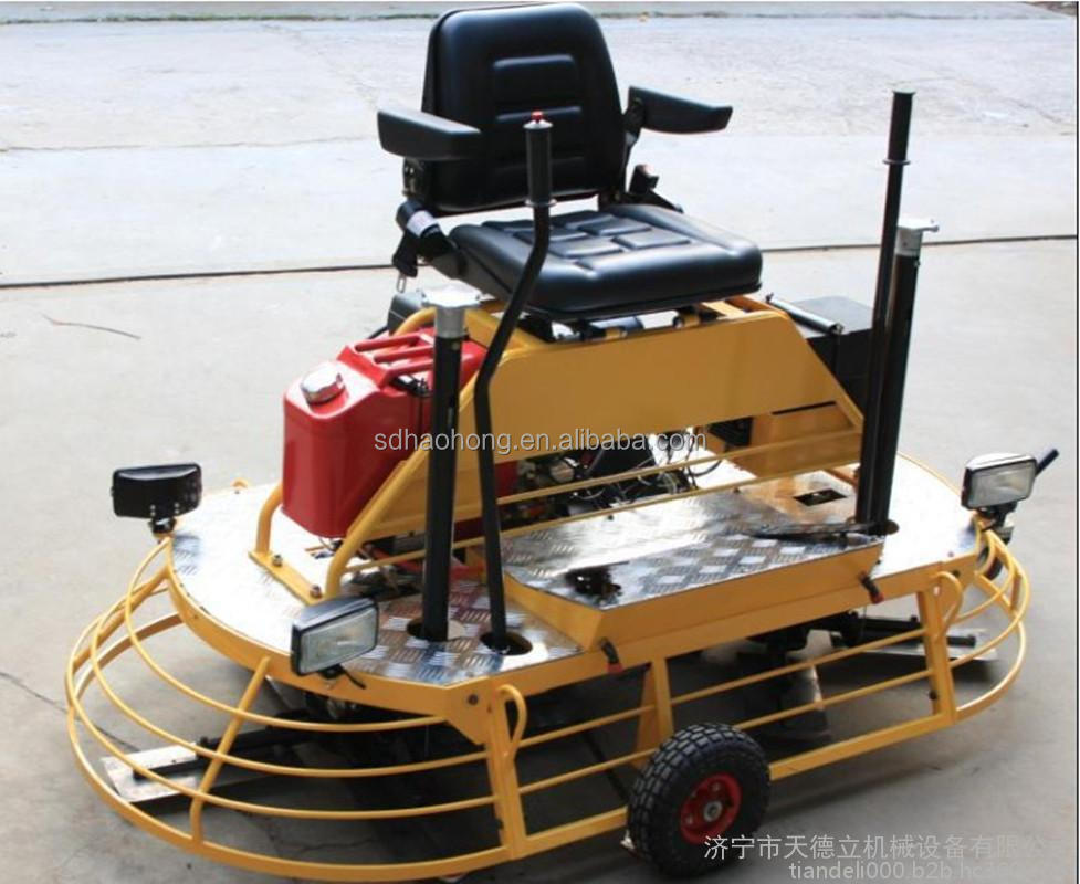 Ride-On concrete Power Trowel/Concrete Finishing Trowel Machine