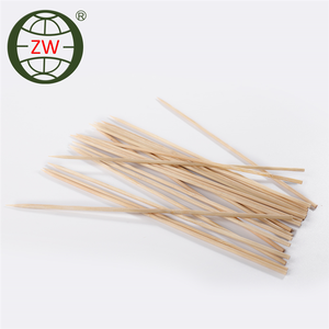 bulk sale bamboo knotted skewer, bamboo flower stick
