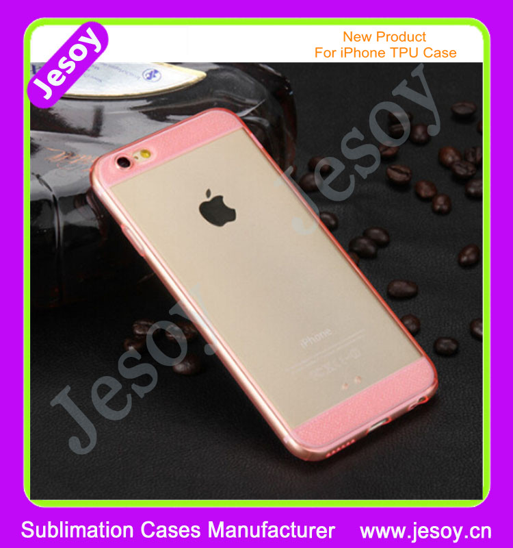 JESOY 0.3mm Ultra Thin Glitter New For iPhone 6 Case, TPU Soft Case Transparent For iPhone 6 Cheap Case