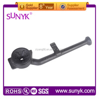 commercial custom cast iron high pressure gas cooker burner parts