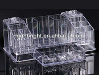 Makeup Jewelry Drawers Display Box Acrylic Cabinet Case Set