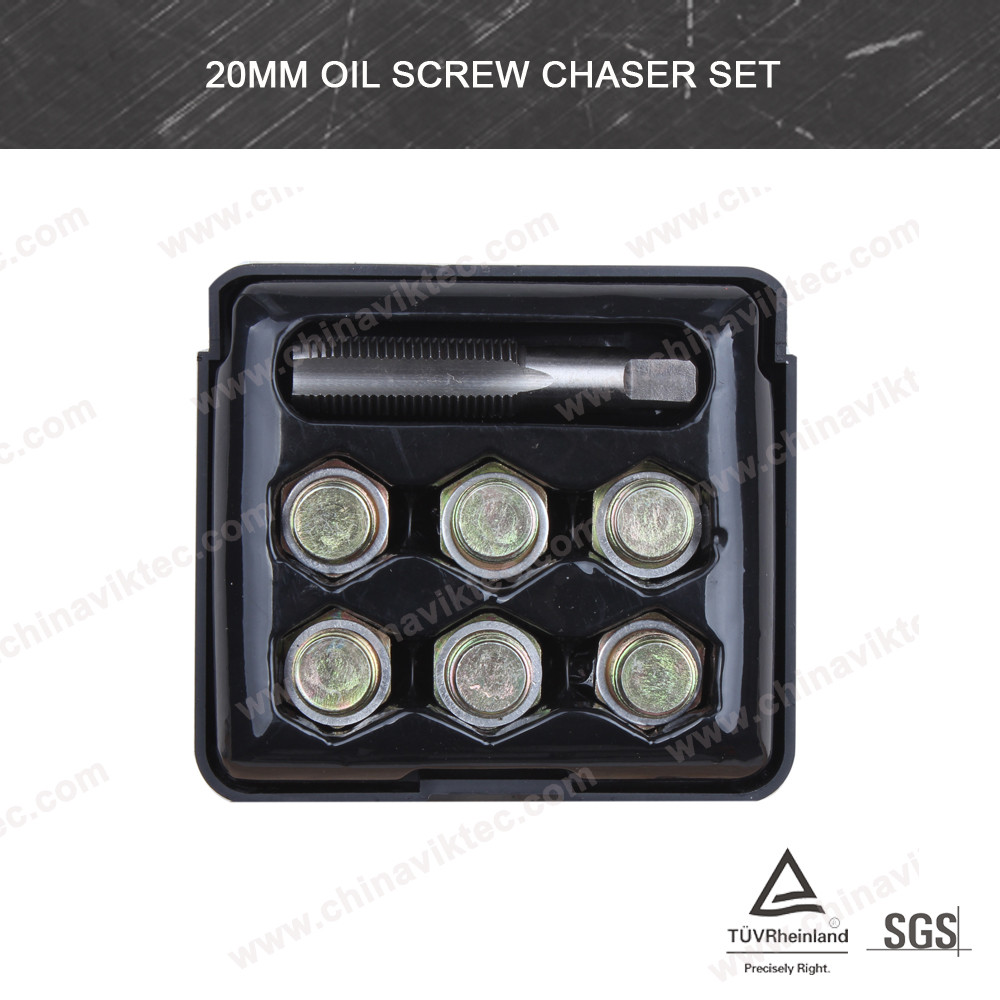 20mm Drain Thread Repair Kit /Oil Screw Chaser Set(VT01076B)