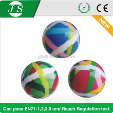 beautiful cheap price bulk bouncing rubber ball with marble colors