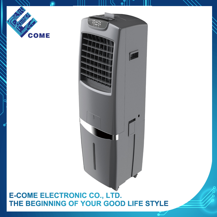 Long working hours with 30L air cooler water spray capacity with washable filter