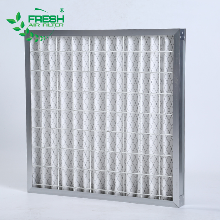 Ventilation hvac system electronic honeycomb pleated filter equipment industrial furnace filter