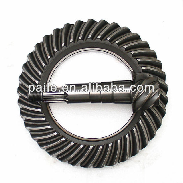Crown wheel and pinion gear set for EATON Coaster tractor truck bus car 11/39 T4355F-T444 T4355F-T489