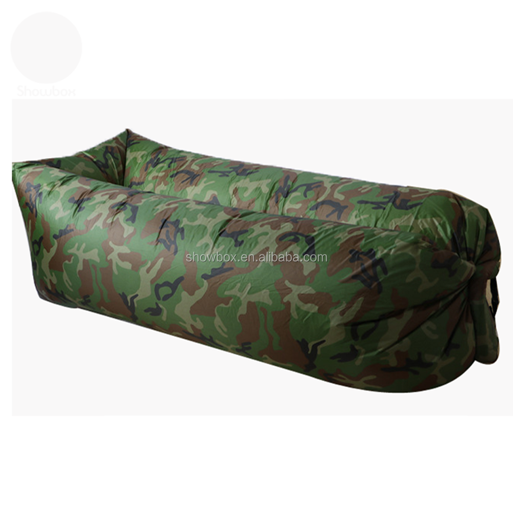 High Quality Nylon Fabric Air Sofa Lounger Inflatable, Alibaba Sofa Furniture Colorful Sleeping Air Bed