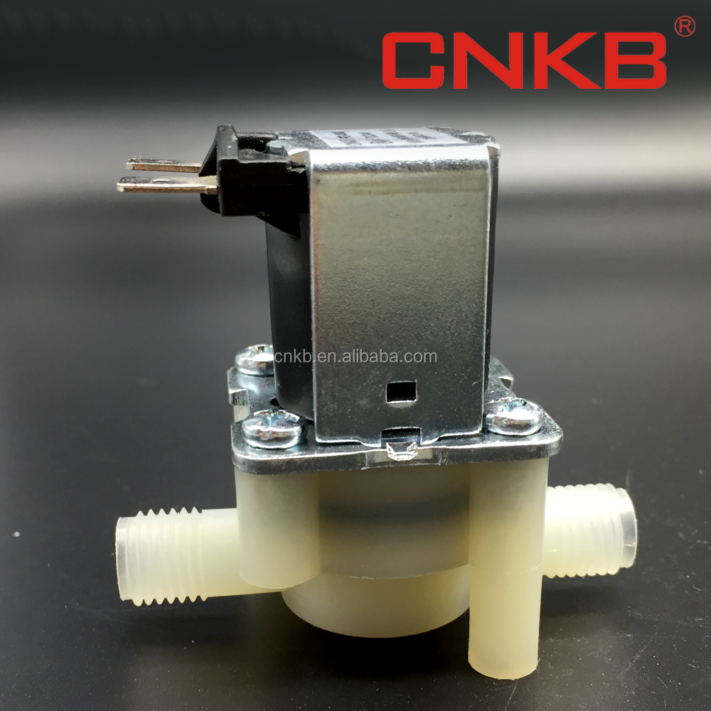 2017 CNKB Best Quality 3/8'' quick inlet ro system water solenoid valve in China