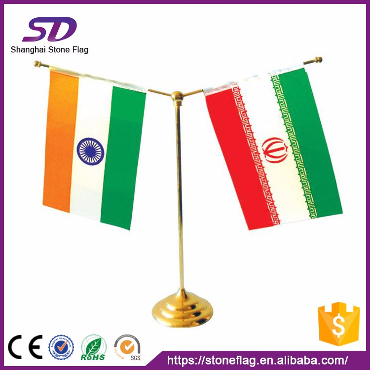 100% Polyester Customized National Flag