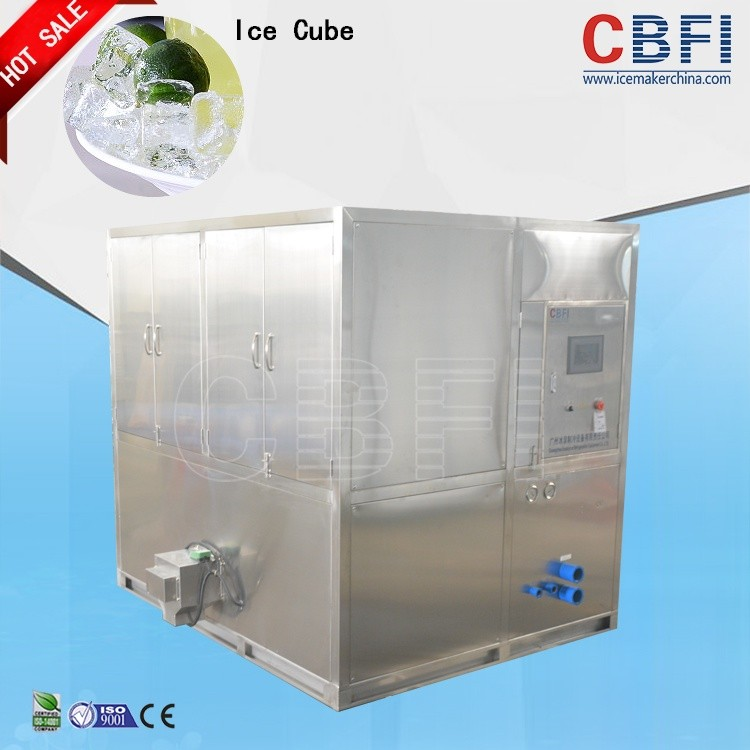 CBFI pop containerized ice cube making machine