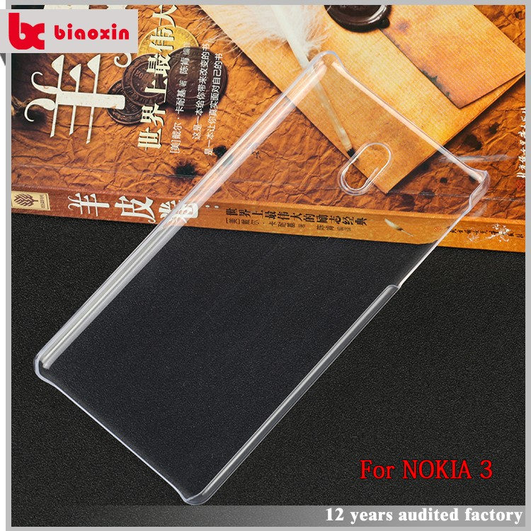 2017 hot products PC normal case for Nokia 3 case mobile phone