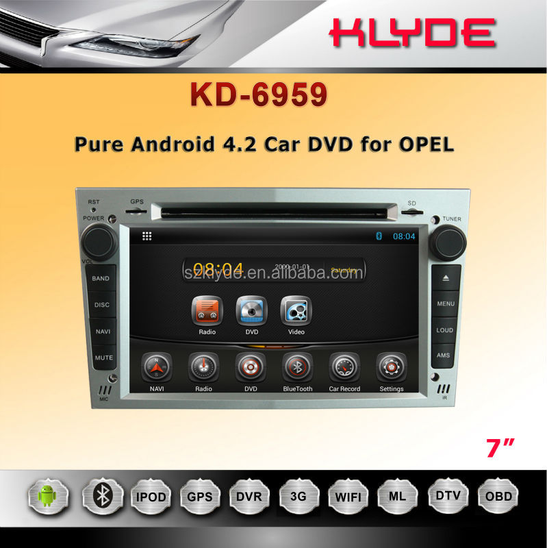 Opel Car DVD TV/GPS/IPOD/3G&WIFI