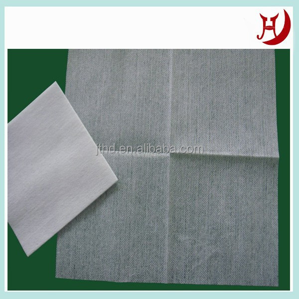 Spunlace folded nonwoven cleaning towel