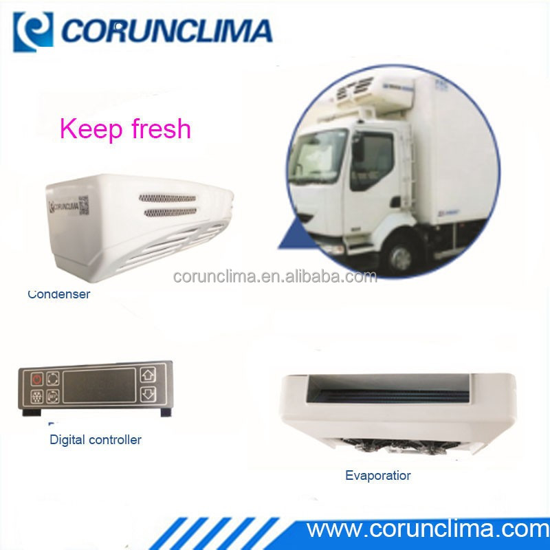 Corunclima Reefer truck refrigeration unit with electric standby