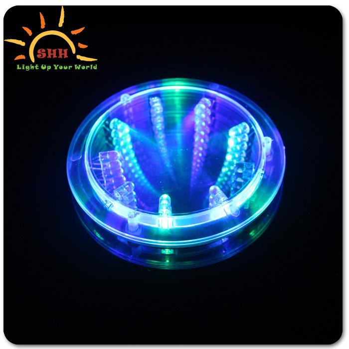 Wholesale Led Flashing Glass Coaster Glass Mat Glowing Wine Glass Coaster Buy Wholesale Led