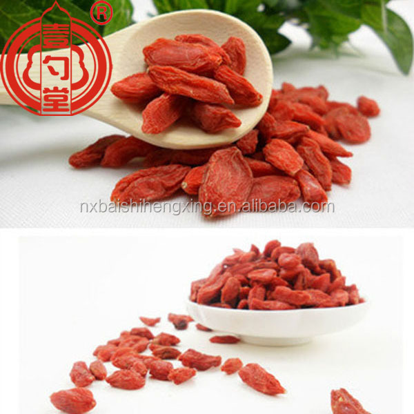 Import goji berries Chinese dried goji berry Ningxia dried goji berry for sale