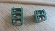 2 pin or 3 pin and 5.08mm spacing terminal block and wire connector for rotating machinary and transformer from szomk, China