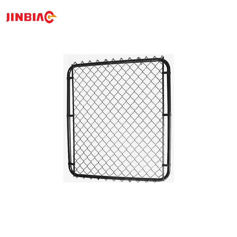 9 gauge 50x50mm galvanized or pvc coated wire mesh fence chain link fence