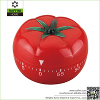 Import Plastic ABS Large Tomato Kitchen Timer