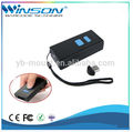 mini wireless bluetooth portable handheld barcode scanner with memory