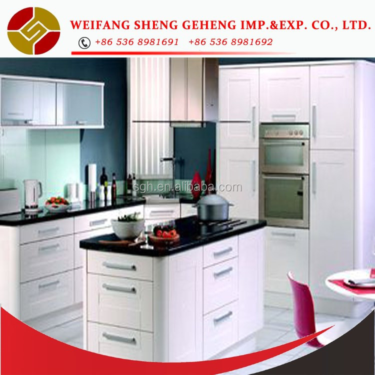 Laminated DTC kitchen cabinet with competitive price made in china