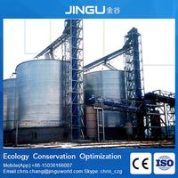 2015 hot sell material handling system storage grain silo