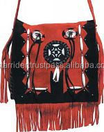 Fringes Beaded Women Hand Bag VSR-LFBG4644