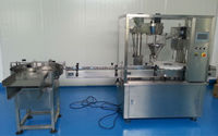 best price Cocoa Powder filling capping machine