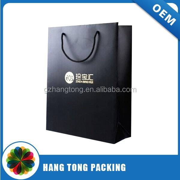Fantasy gift paper bag for gift package