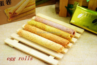 Hot Sale Egg Roll Cream Biscuit