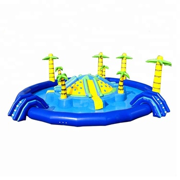 New Design NEVERLAND TOYS Popular Jungle Adventure Inflatable Pool Toys Water Park Equipment For Sale