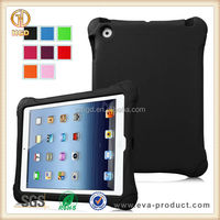 EVA material shock proof tablet cover case for ipad for kid