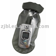 The new 2013 folding envirement good qulity special price waterproof phone bag