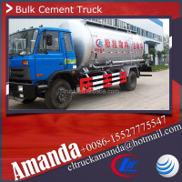 Price cement truck load Dongfeng 4*2 190hp bulk truck loads heavy cement truck loading