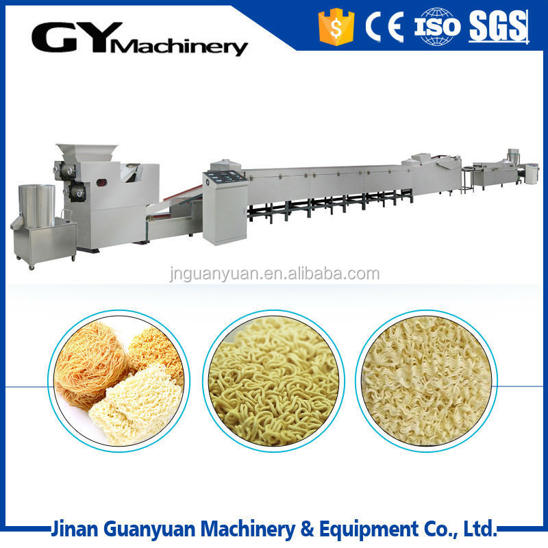 High demand instant noodles manufacturing extruder