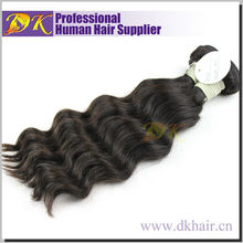100% Natural Cambodian Virgin Human hair clear banded hair extensions