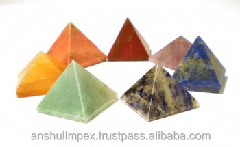 Chakra Pyramid Set for healing