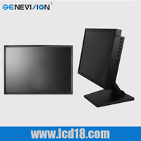 free standing HD industrial LCD with SDI/VGA Real Estate company lcd CCTV monitor