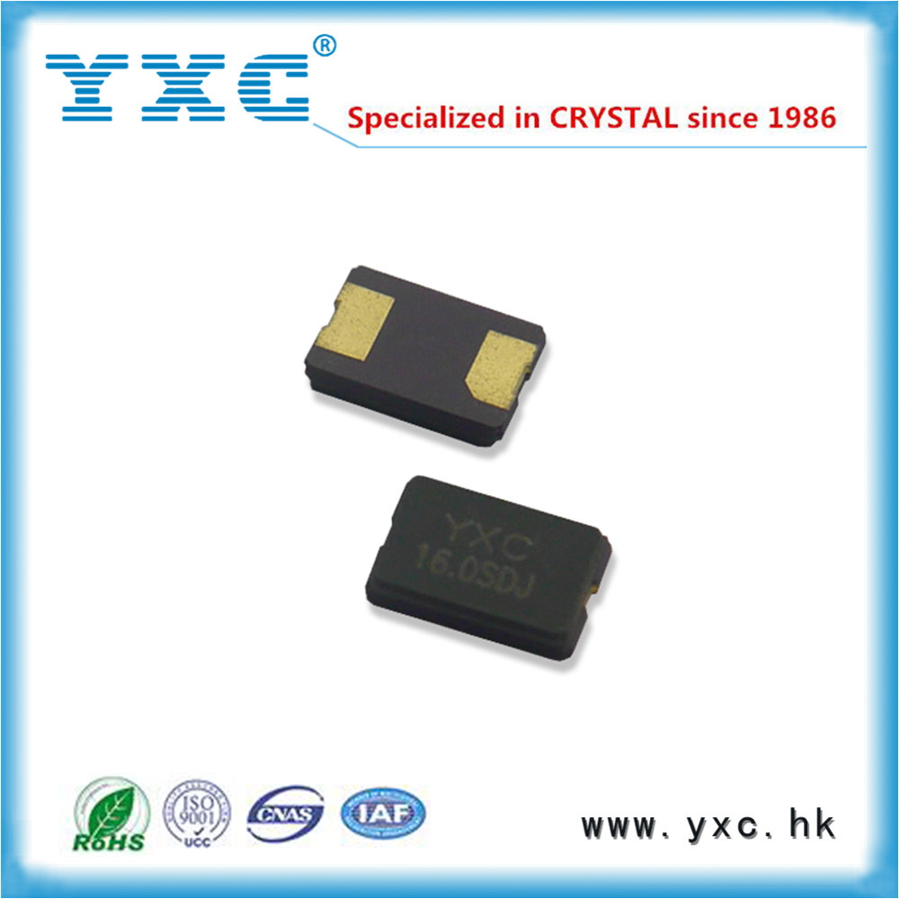 16MHz 20PF 5032 SMD Ceramic crystal resonator 2pin 20ppm 16 MHz 16.000000MHz 5.0*3.2*1.2mm RoHS bulk sale