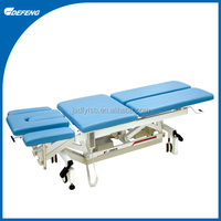 DLC-1A Three folded and six-position physiotherapy electric treatment table