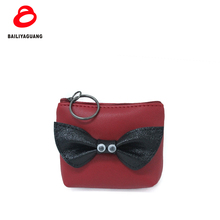 2018 New design Silicone coin purse coin purse with zipper PU leather blank coin purse with ur logo