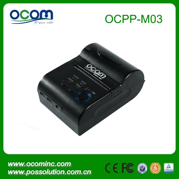Battery Powered Thermal Bluetooth Mini Portable Printer compatible with Android(OCPP-M05)