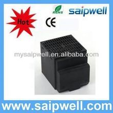 Small compact semiconductor fan heater solar air heater with fan 150W, 250W, 400W