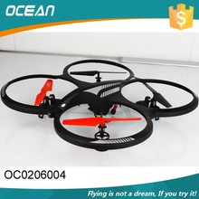 Super light 2.4g 4-axis ufo big quadcopter aircraft models with LED light